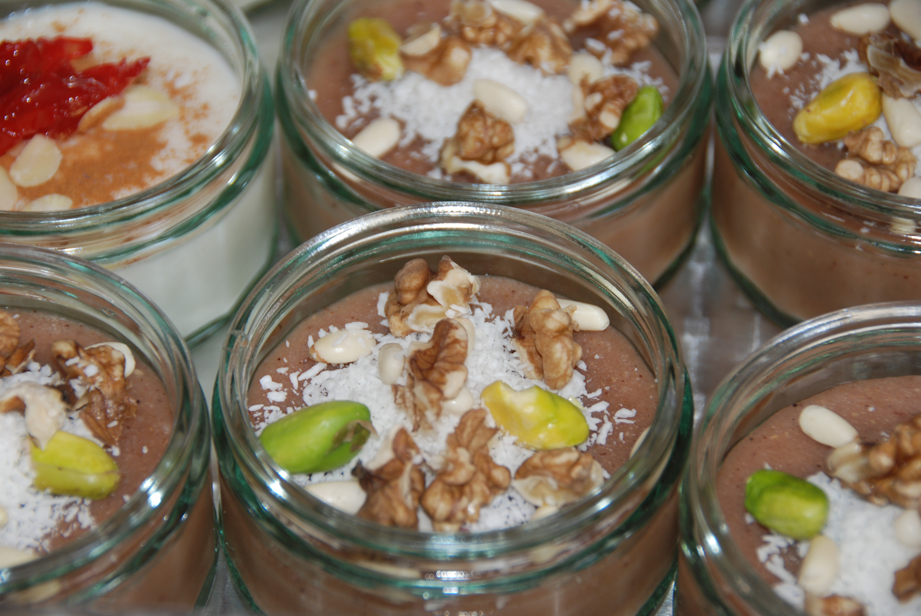 Moughli — Ground Rice Pudding with Cinnamon and Caraway ...