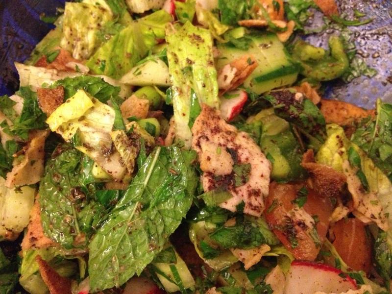 Fatoush, Lebanese Salad
