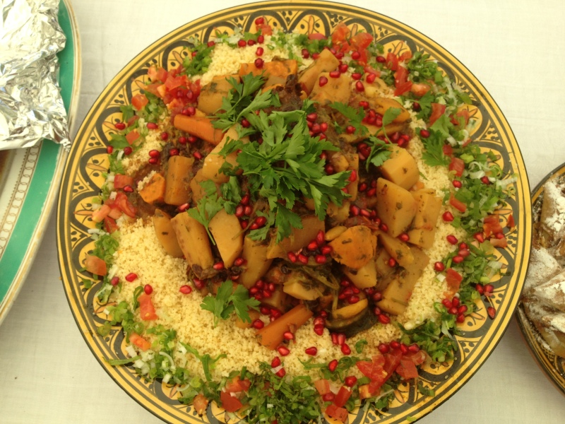 Vegetarian Couscous.JPG www.samaracuisine.co.uk